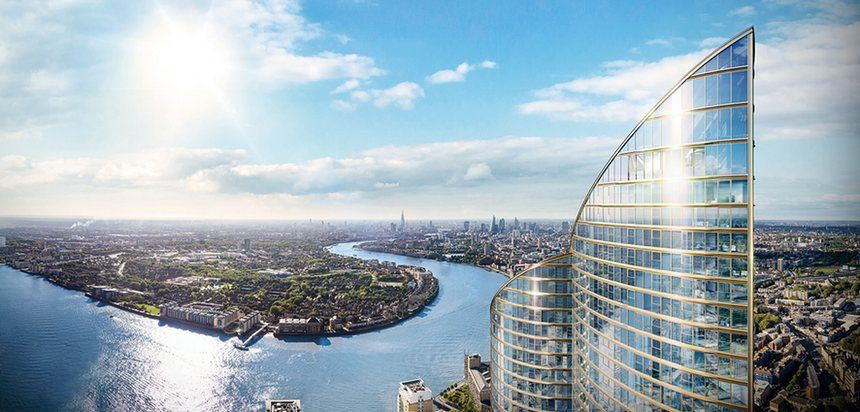 Chinese firm to build Europe's tallest residential tower in London