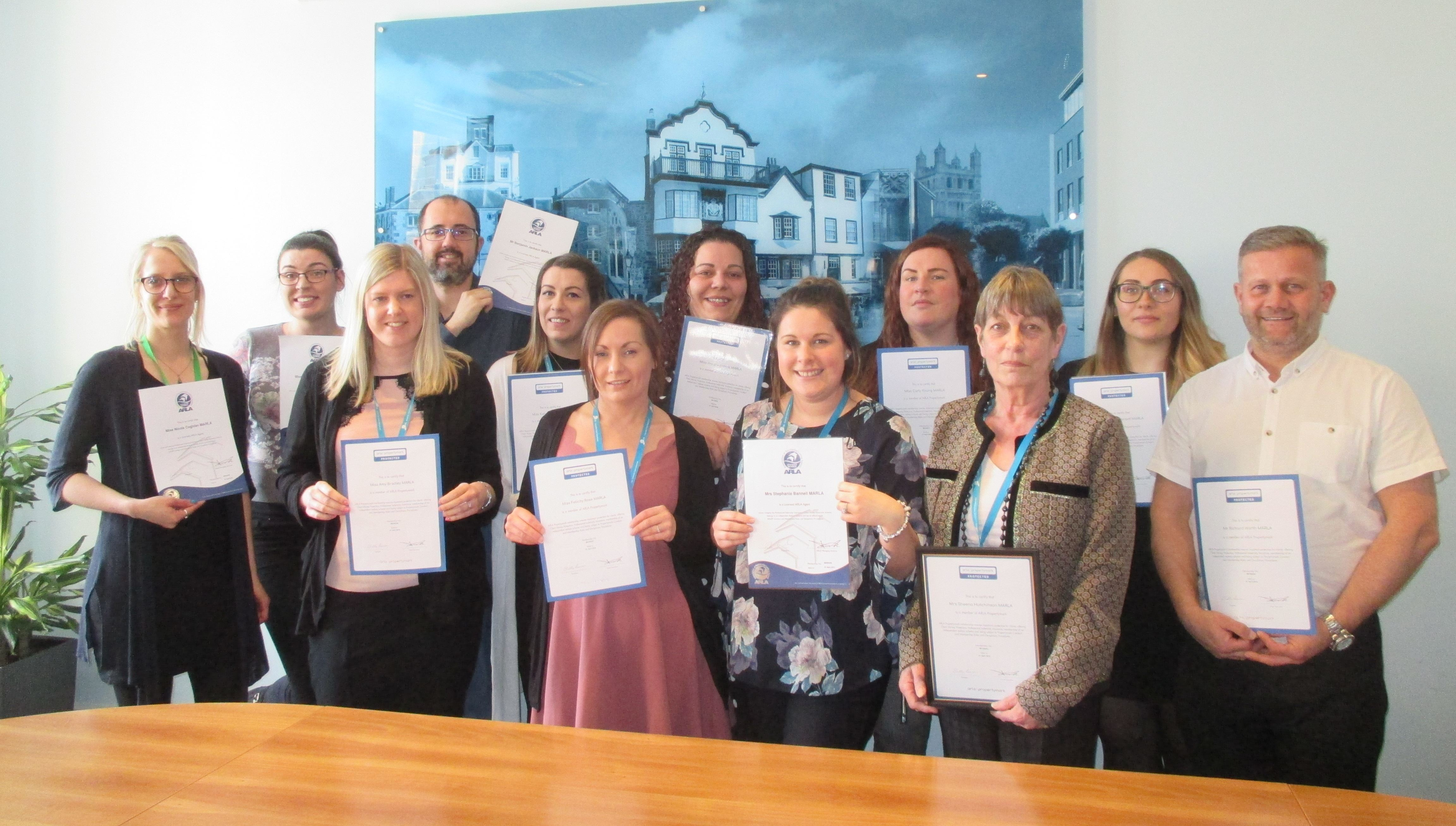 LSL CCD & PRSim celebrate ARLA success